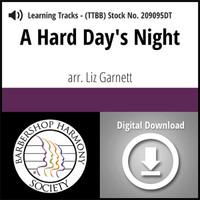 A Hard Day's Night (TTBB) (Garnett) - Digital Learning Tracks for 209094