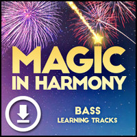 Magic in Harmony (Bass) - Digital Learning Tracks - for 212660