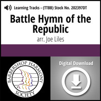 Battle Hymn Of The Republic (TTBB) (arr. Liles) - Digital Learning Tracks for 7687