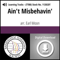 Ain't Misbehavin' (TTBB) (arr. Moon & Waesche) - Digital Learning Tracks for 7360