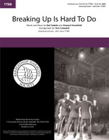 Breaking Up Is Hard To Do (TTBB) (arr. Campbell) - Download