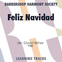 Feliz Navidad (TTBB) (arr. Briner) - Digital Learning Tracks for 200363