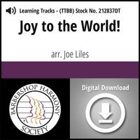 Joy to the World (TTBB) (arr. Liles) - Digital Learning Tracks for 212834