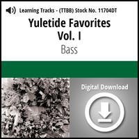 Yuletide Favorites Vol. I (Bass) - Digital Learning Tracks for 210860