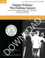 Happy Holiday/The Holiday Season (SATB) (arr. Scott) - Download