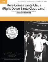Here Comes Santa Claus (Right Down Santa Claus Lane) (SATB) (arr. Webb)