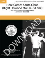 Here Comes Santa Claus (Right Down Santa Claus Lane) (SATB) (arr. Webb) - Download