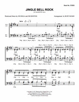 Jingle Bell Rock (SATB) (arr. Szabo)