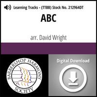 ABC (TTBB) (arr. Wright) - Digital Learning Tracks for 211564