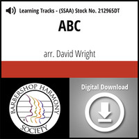 ABC (SSAA) (arr. Wright) - Digital Learning Tracks for 211696