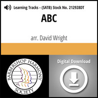 ABC (SATB) (arr. Wright) - Digital Learning Tracks for 212927
