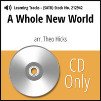 A Whole New World (8-part M/W) (arr. Hicks) - CD Learning Tracks for 212939