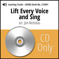 Lift Every Voice and Sing (8-part SATB) (arr. Nicholas) - CD Learning Tracks for 213040