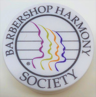 Our fashionable pop sockets help you grip your phone easily when juggling calls and other gear.  Not only do they apply with ease, they also make multitasking a manageable feat.    They are available in two styles: Barbershop Harmony Society logo and Next Generation Barbershop Junior Chorus Invitational logo.