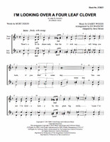 I'm Looking Over a Four Leaf Clover (SSAA) (arr. Waesche) - Download