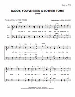 Daddy You've Been a Mother to Me (TTBB) (arr. Gentry) - Download