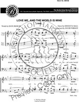 Love Me and the World Is Mine (TTBB) (arr. Wright) - Download