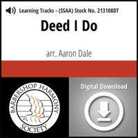 Deed I Do (SSAA) (arr. Dale) - Digital Learning Tracks - for 212490