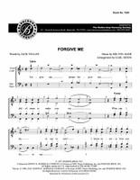 Forgive Me (TTBB) (arr. Moon) - Download