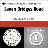 Seven Bridges Road (SSAA) (arr. Johnson) - Digital Learning Tracks for 213045