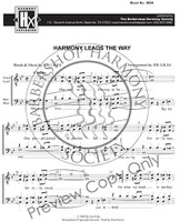 Harmony Leads The Way (8-part M/M) (arr. Liles) - Download