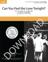 Can You Feel the Love Tonight? (SATB) (arr. Dale) - Download