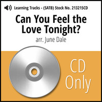 Can You Feel the Love Tonight? (SATB) (arr. J. Dale) - CD Learning Tracks for 213214