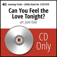 Can You Feel the Love Tonight? (SSAA) (arr. J. Dale) - CD Learning Tracks for 213212