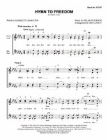 Hymn to Freedom (SSAA) (arr. Clancy) - Download