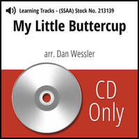 My Little Buttercup (SSAA) (arr. Wessler) - CD Learning Tracks for 213138