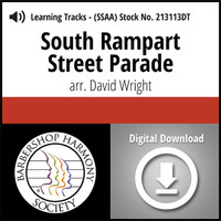 South Rampart Street Parade (SSAA) (arr. Wright) - Digital Tracks for 213112