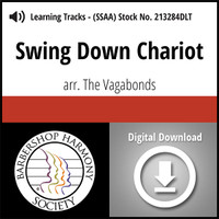 Swing Down Chariot (SSAA) (arr. The Vagabonds) - Digital Tracks for 11124