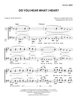 Do You Hear What I Hear? (TTBB) (arr. Liles) - Download