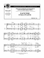 Each Time I Fall In Love (TTBB) (arr. Grundy) - Download