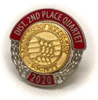 Second Place Pin