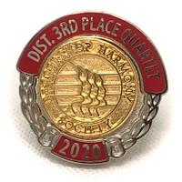 Third Place Pin