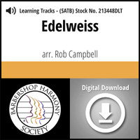 Edelweiss (SATB) (arr. Campbell) - Digital Tracks for 213447