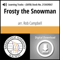 Frosty the Snowman (SATB) (arr. Campbell) - Digital Tracks for 213438