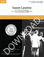 Sweet Caroline (SATB) (arr. Oxford & A Mighty Wind) - Download