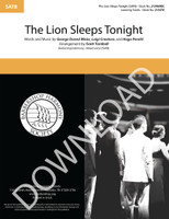 The Lion Sleeps Tonight (SATB) (arr. Turnbull) - Download