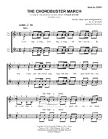 The Chordbuster March (SSAA) (arr. Wyatt) - Download