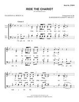 Ride the Chariot (SATB) (arr. BHS) - Download