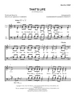 That's Life (SATB) (arr. BHS) - Download