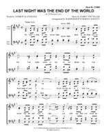 Last Night Was the End of the World (SATB) (arr. BHS) - Download