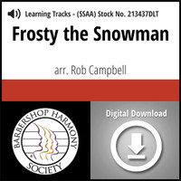 Frosty the Snowman (SSAA) (arr. Campbell) - Digital Tracks for 213436