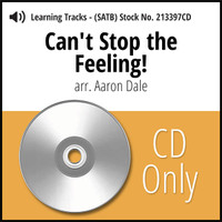Can't Stop the Feeling (SATB) (arr. Dale) - CD Learning Tracks for 213396