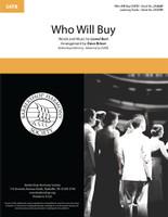 Who Will Buy (SATB) (arr. Briner)
