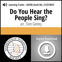 Do You Hear the People Sing? (SATB) (arr. Gentry) - Digital Learning Tracks for 213373
