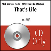 That's Life (SSAA) (arr. BHS) - CD Learning Tracks for 213525