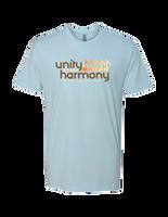 Unity Through Harmony - Music Notes (Ice Blue)